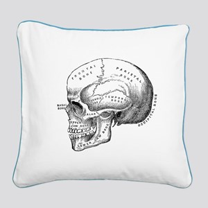 Anatomical Square Canvas Pillow