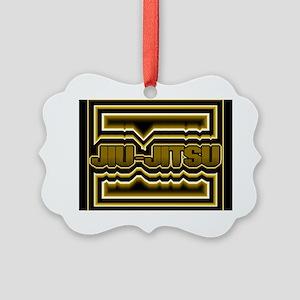 Jiu-Jitsu Picture Ornament