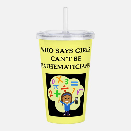 math Acrylic Double-wall Tumbler