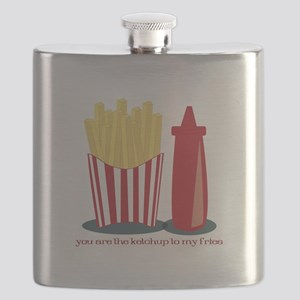 Ketchup To My Fries Flask
