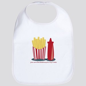 Ketchup To My Fries Bib