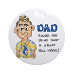 Father's Day Ornament (Round)