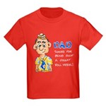 Father's Day Kids Dark T-Shirt