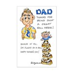 Father's Day Mini Poster Print