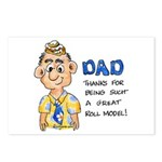 Father's Day Postcards (Package of 8)