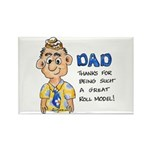 Father's Day Rectangle Magnet