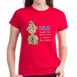 Father's Day Women's Dark T-Shirt