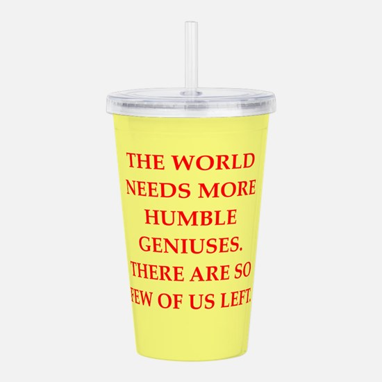 GENIUS Acrylic Double-wall Tumbler