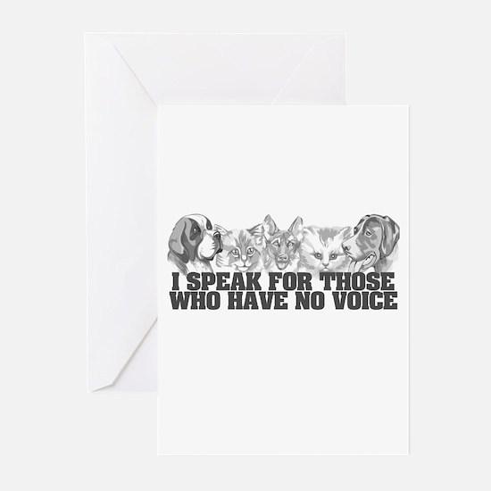 Animal Voice Greeting Cards (Pk of 10)