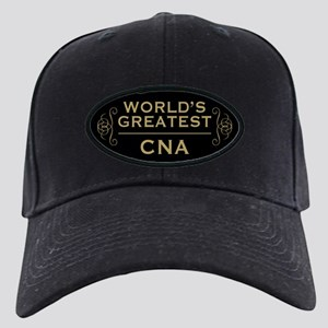 World's Greatest CNA Black Cap with Patch