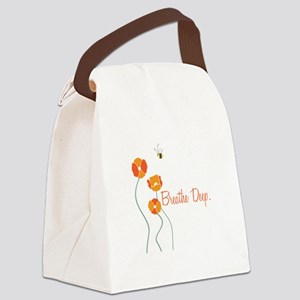 Breathe Deep Canvas Lunch Bag
