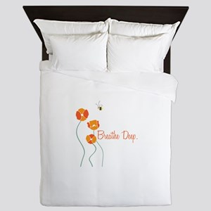 Breathe Deep Queen Duvet