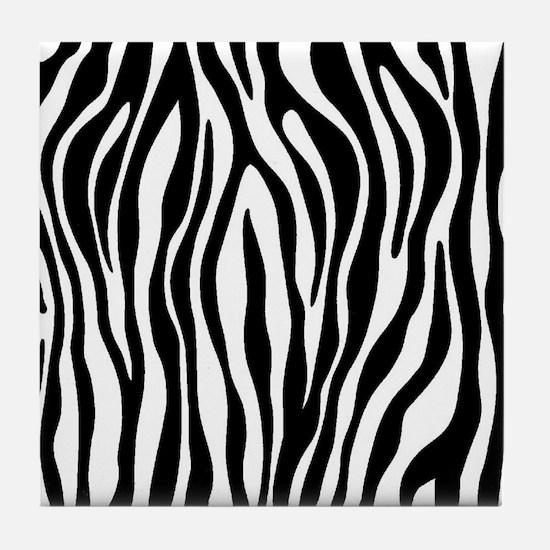 Cute Zebra Tile Coaster