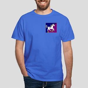 Colourful Unicorn Dark T-Shirt