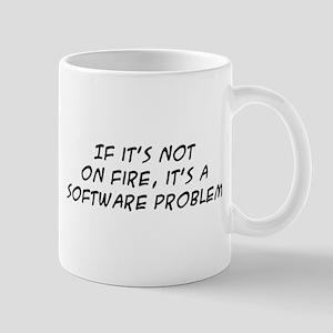 If it's not on fire Mug
