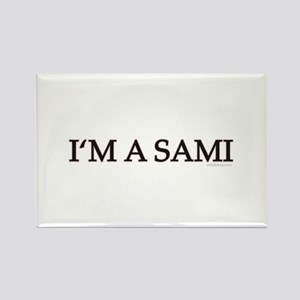 I'm A Sami Rectangle Magnet