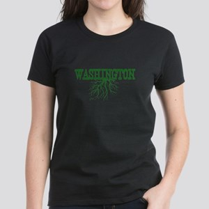 Washington Roots Women's Dark T-Shirt