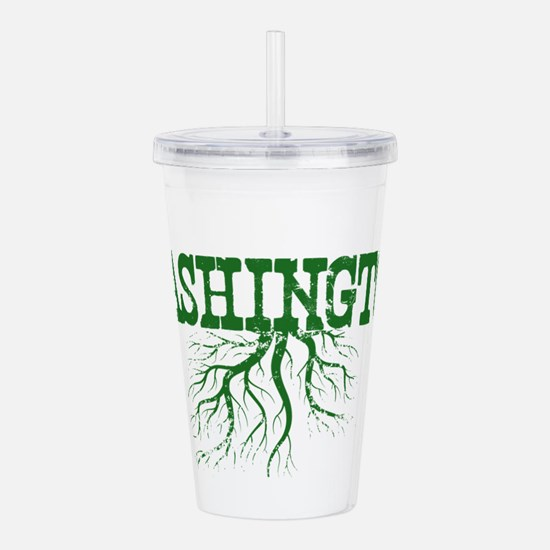 Washington Roots Acrylic Double-wall Tumbler