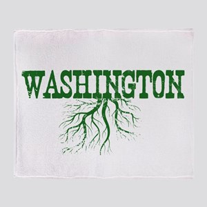 Washington Roots Throw Blanket