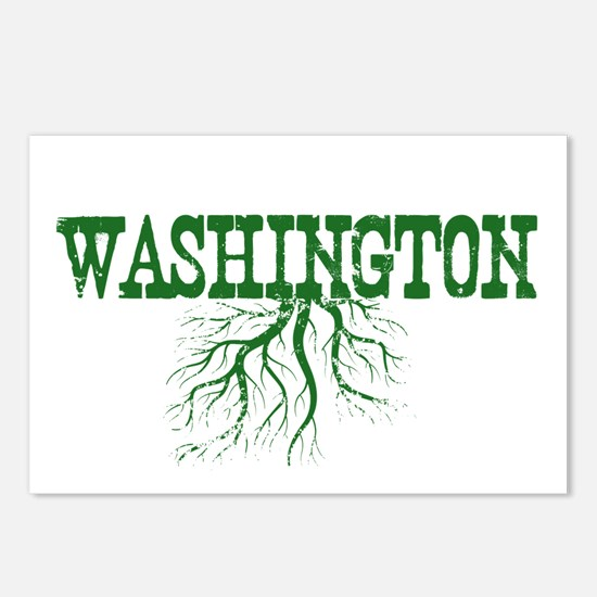 Washington Roots Postcards (Package of 8)