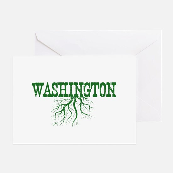 Washington Roots Greeting Card