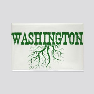 Washington Roots Rectangle Magnet
