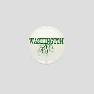 Washington Roots Mini Button