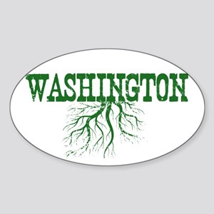 Washington Roots Sticker (Oval)
