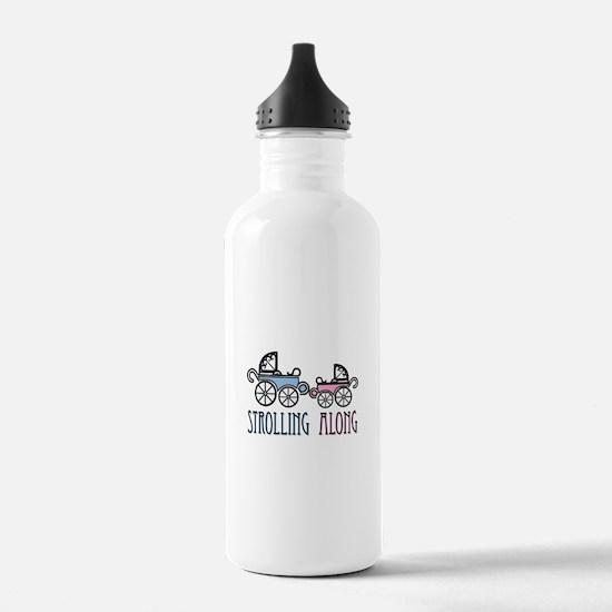 Strolling Along Water Bottle