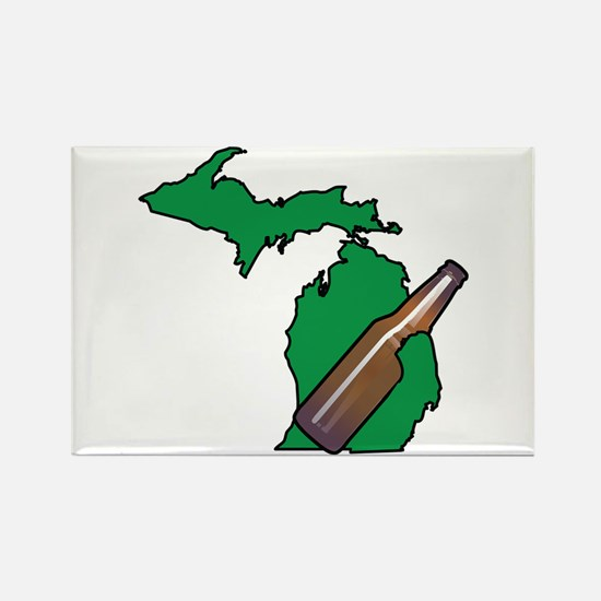 Michigan Beer Magnets