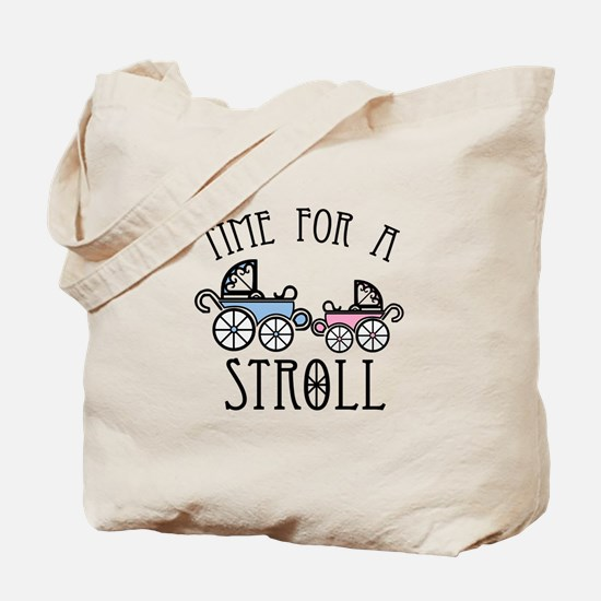 Time For A Stroll Tote Bag