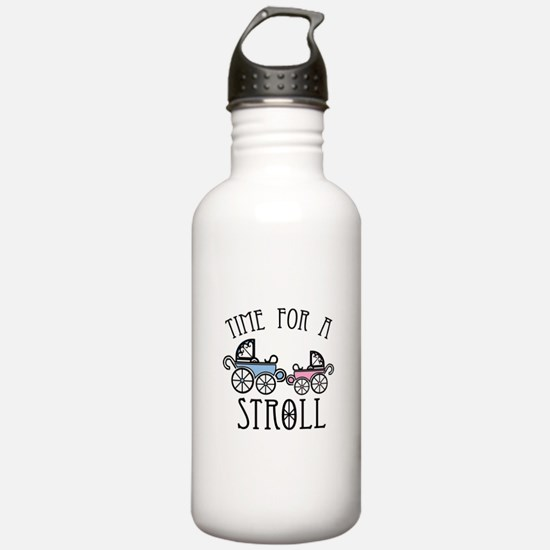 Time For A Stroll Water Bottle