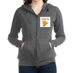 SQUIRREL Women's Zip Hoodie