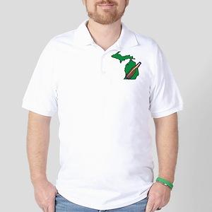 Michigan Beer Golf Shirt