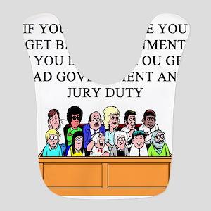 election jury duty gifts apparel Bib