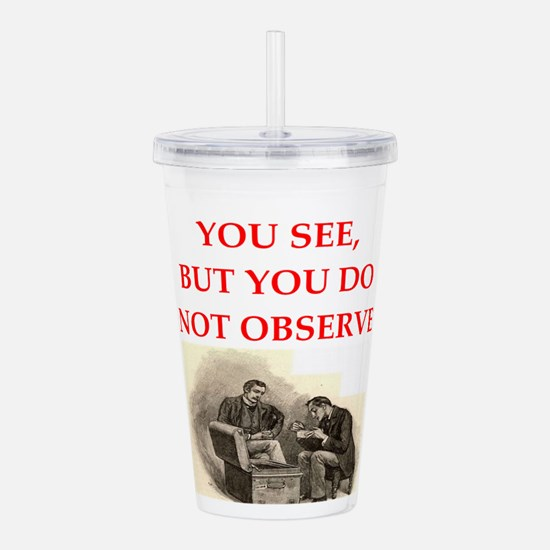 HOLMES22.png Acrylic Double-wall Tumbler