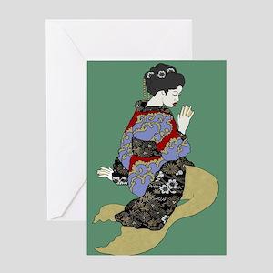 more tsunami tales Greeting Cards