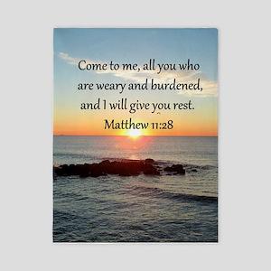 MATTHEW 11:28 Twin Duvet