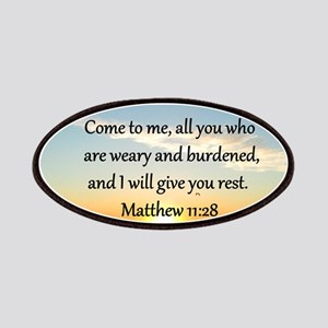 MATTHEW 11:28 Patches