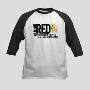 Red4OurTroops Baseball Jersey