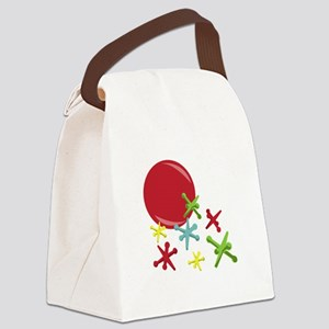 Toy Jacks Canvas Lunch Bag