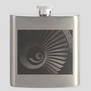 Jet Engine Flask