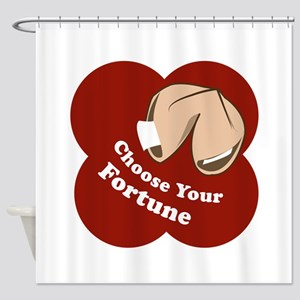 Choose Your Fortune Shower Curtain
