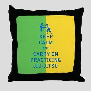 Keep Calm and Carry On Practicing Jiu Jitsu Throw