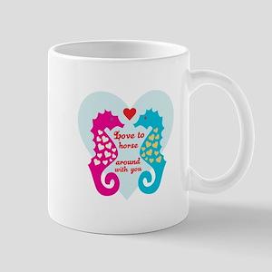 Love To Horse Around Mugs