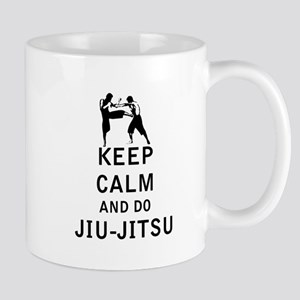 Keep Calm and Do Jiu-Jitsu Mugs