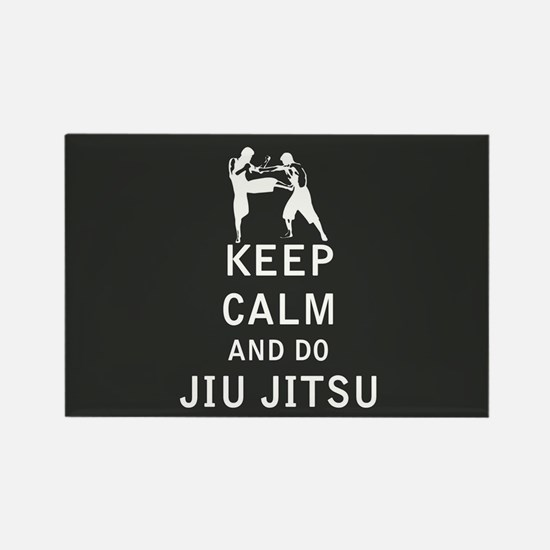 Keep Calm and Do Jiu-Jitsu Magnets