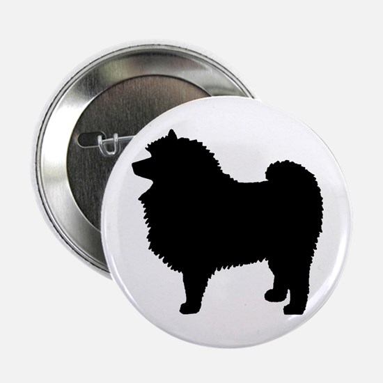 Keeshond Dog Breed Button