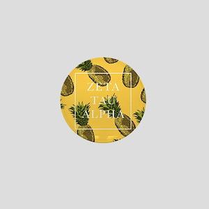 Zeta Tau Alpha Pinapples FB Mini Button