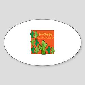 Free Acupuncture Sticker